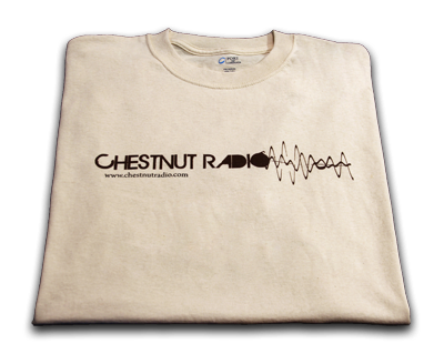 Chestnut Radio T-shirt